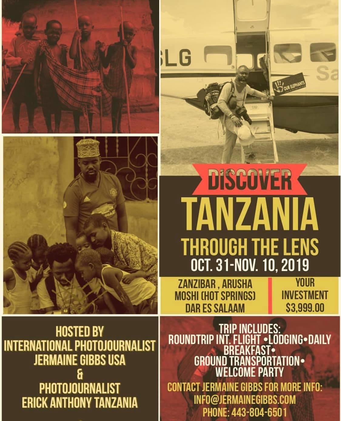 Discover TANZANIA Through the Lens Contract 2019 0315